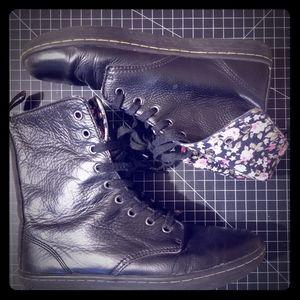 Doc Marten's Black leather boot